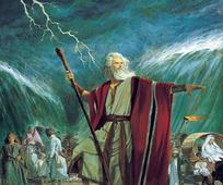 Moisés y la división del mar Rojo
