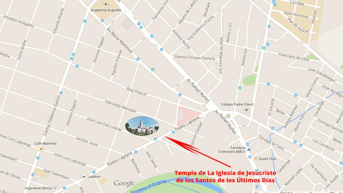 Mapa templo Cordoba