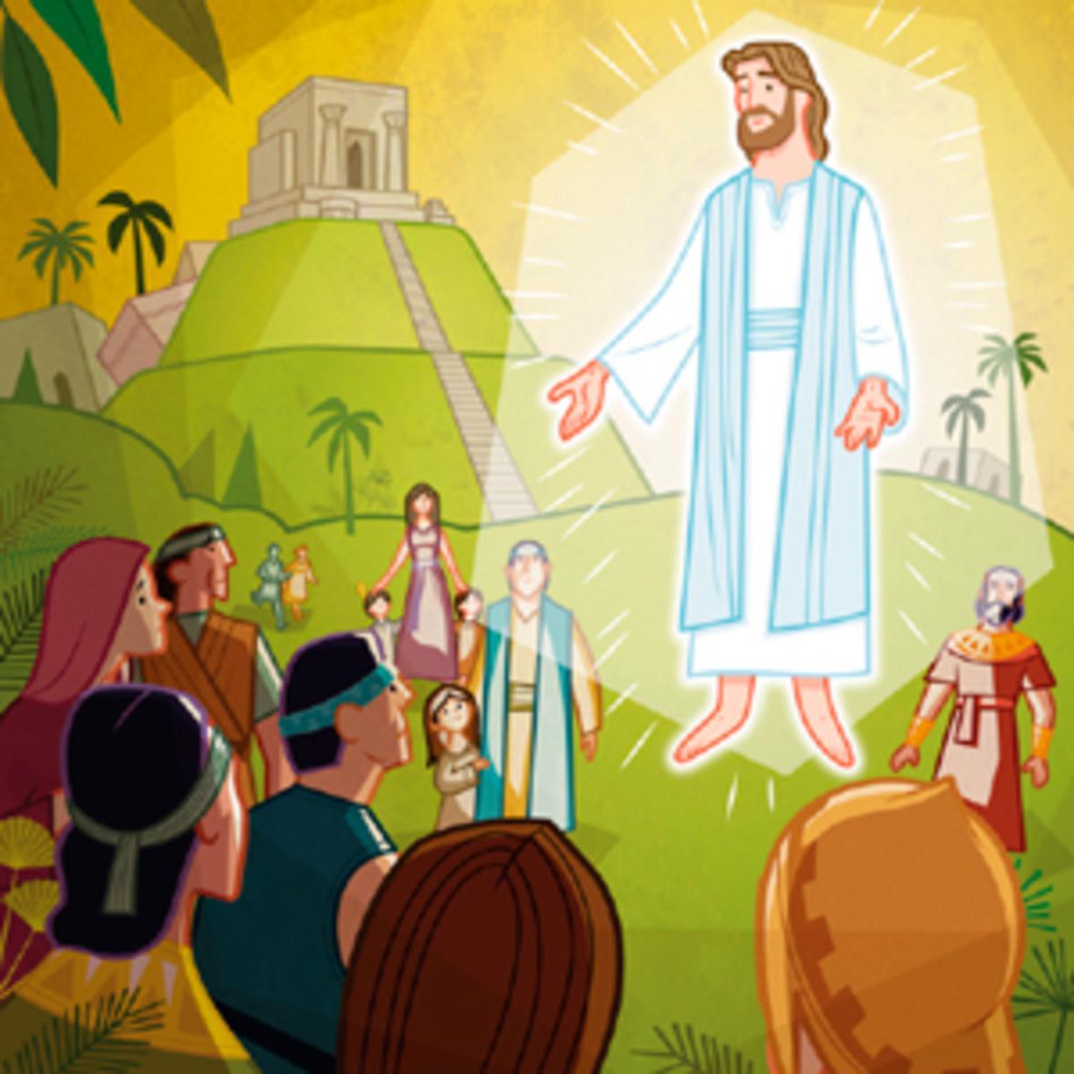 Libro de Mormón para colorear