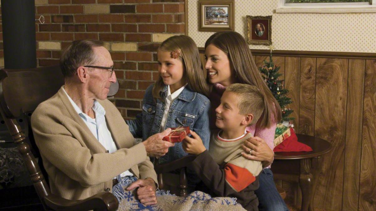 Visitando abuelo