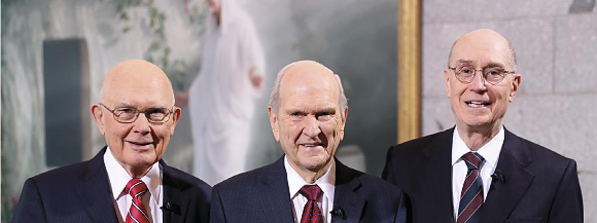 Ръсел М. Нелсън е новият президент на Църквата