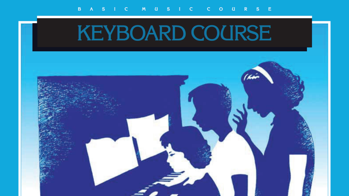 Keyboard Course Book and Audio Examples