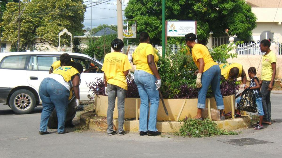 The International Day of Service in Jamaica