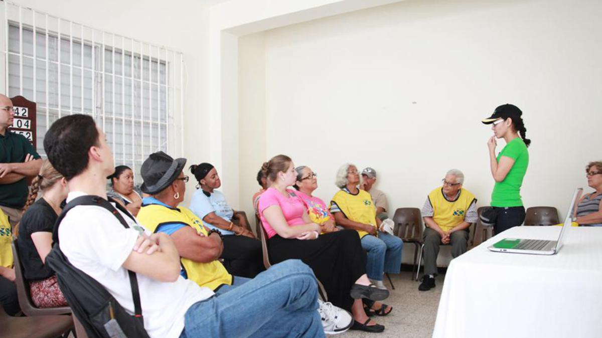Feria de salud en el Municipio de Vieques