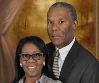 President Karlyle Raphael and Sister Myrlande Raphael