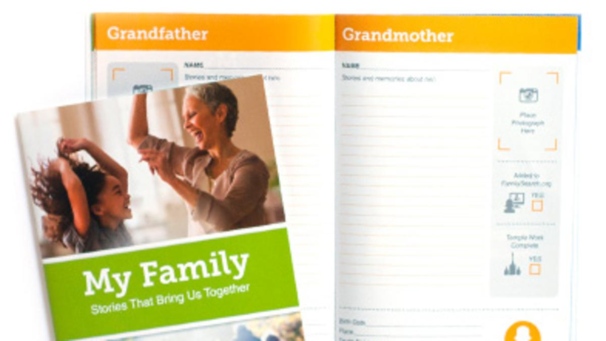 """My Family"""" Booklet"""