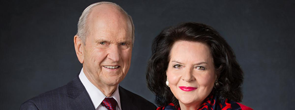 Pres. Russel M. Nelson e Sister Wendy Nelson