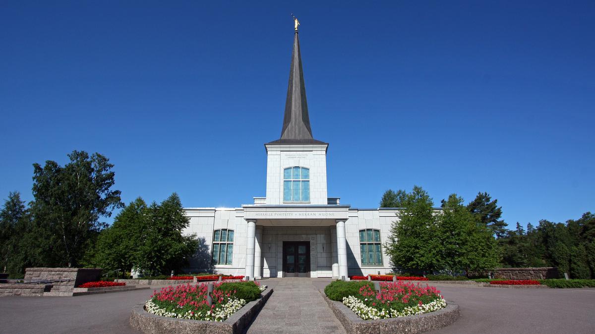 Храм в Хельсинки, Финляндия
