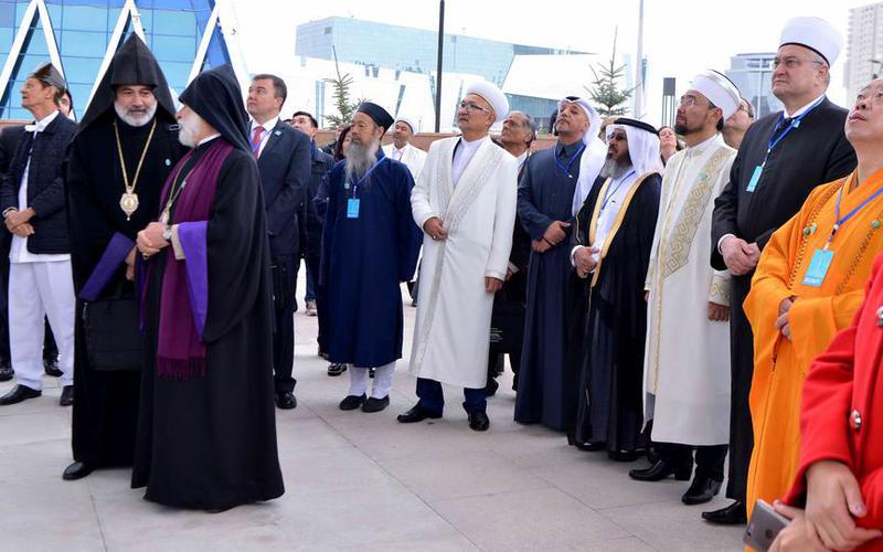 Старейшина Самайкин принял участие в Съезде лидеров мировых и традиционных религий
