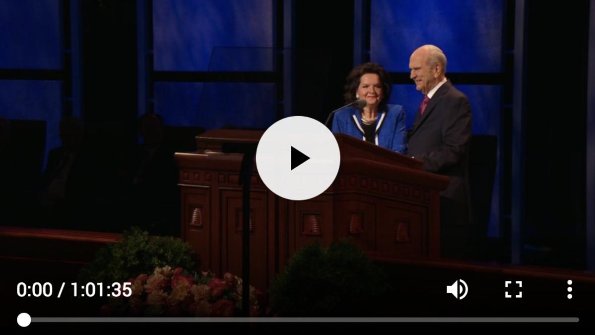 Всемирный Божественный час для молодежи: Послания от Президента Рассела М. Нельсона и сестры Уэнди У. Нельсон