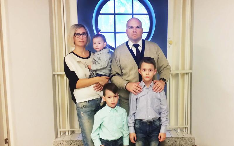 Знакомьтесь: семья Важевых