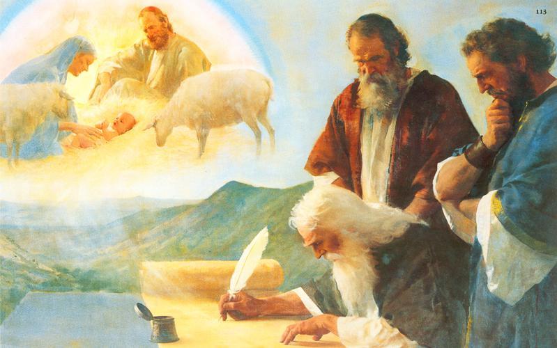 113: Исаия предсказывает рождение Христа