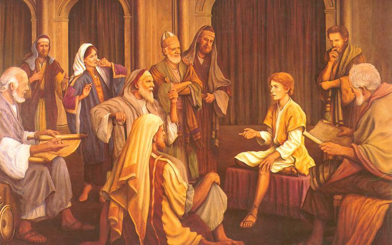 205: Отрок Иисус в храме