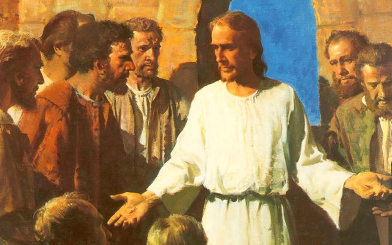 234: Иисус показывает Свои раны