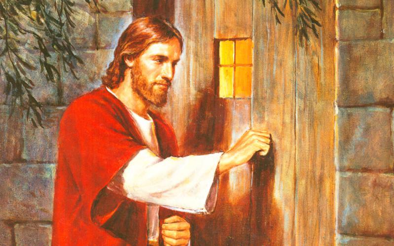 237: Иисус у двери