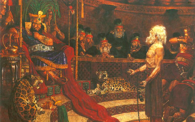 308: Авинадей перед царем Ноем