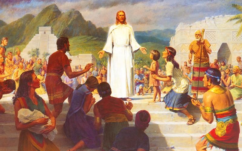 316: Иисус учит в западном полушарии