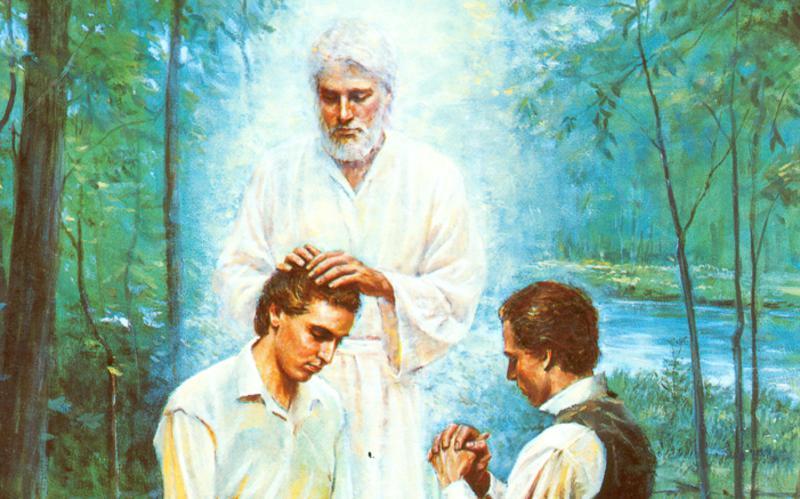 407: Иоанн Креститель дарует Священство Аароново