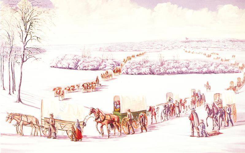 410: Исход из Наву, февраль - март 1846 года