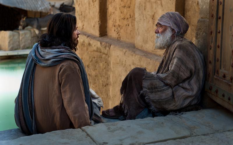 Jeesus aitab abivajajat