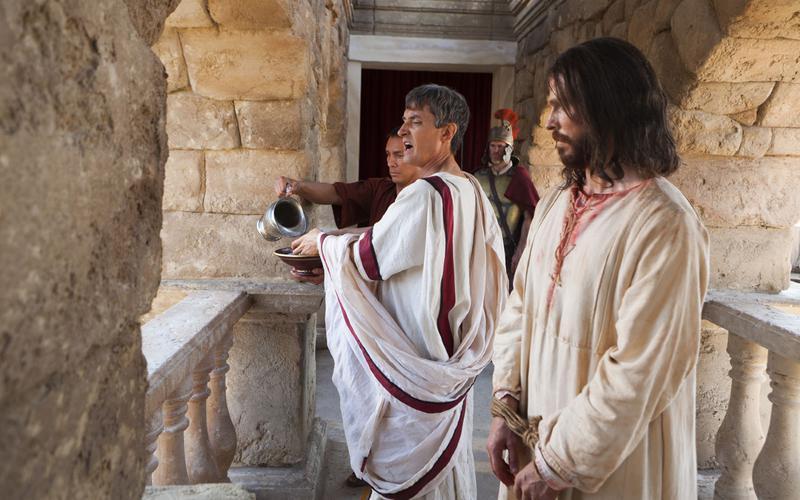 Jeesus Pilaatuse juures