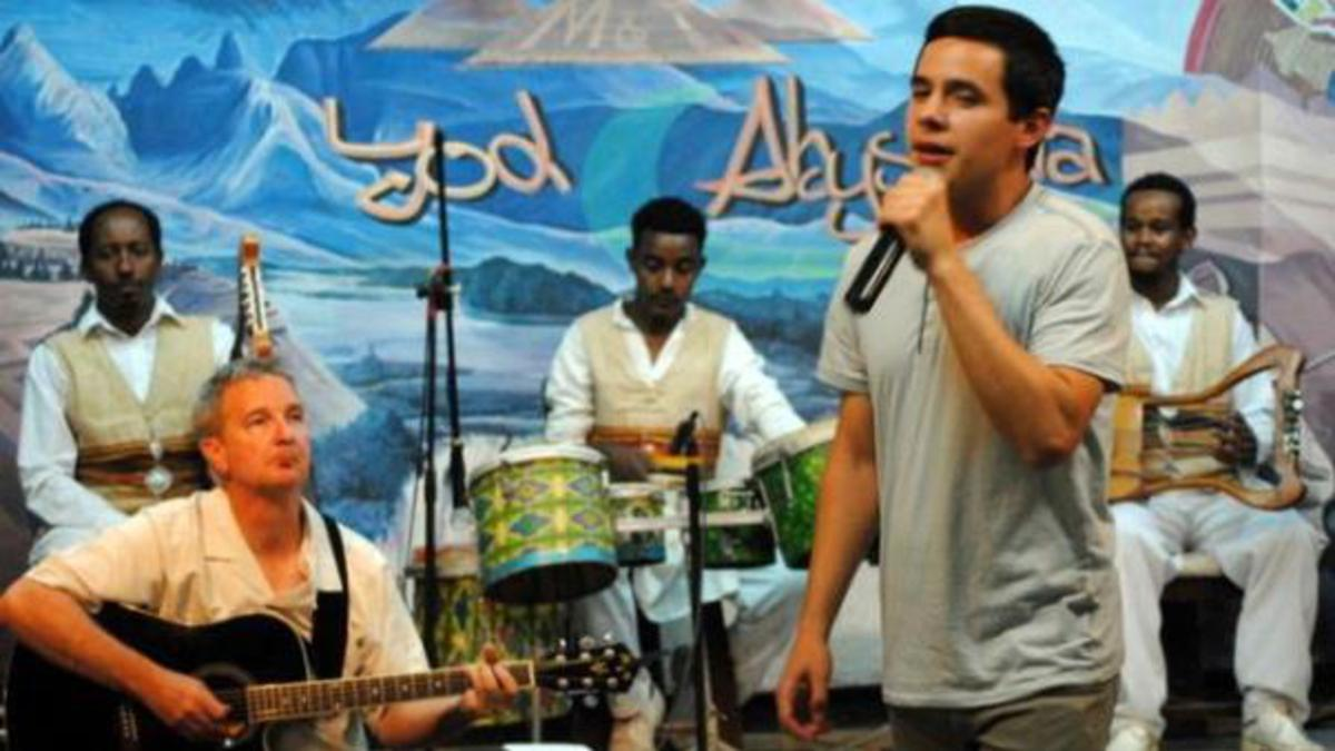 American Idol Speaks to Ethiopian Youth