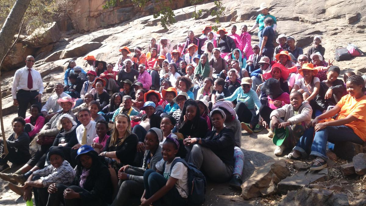 Come Unto Christ: First Young Women's Camp in Botswana