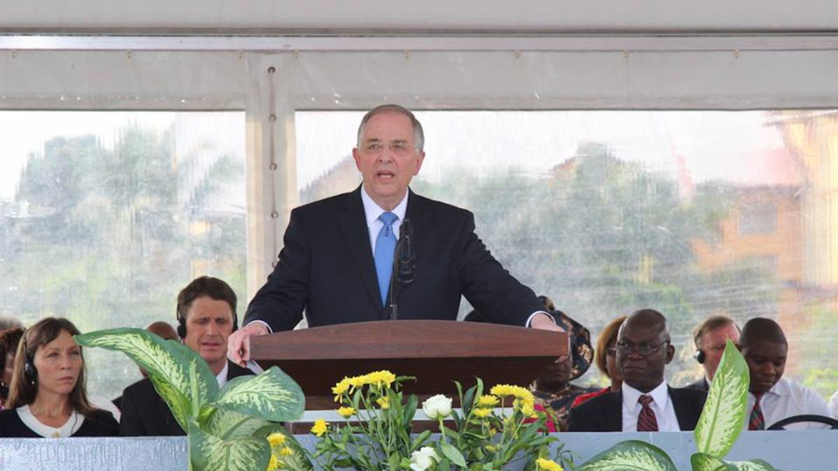 Elder Andersen's Talk and Dedicatory Prayer at the Kinshasa, DRC Temple Groundbreaking