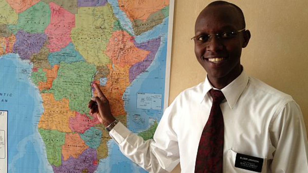 Rwanda's First Missionary