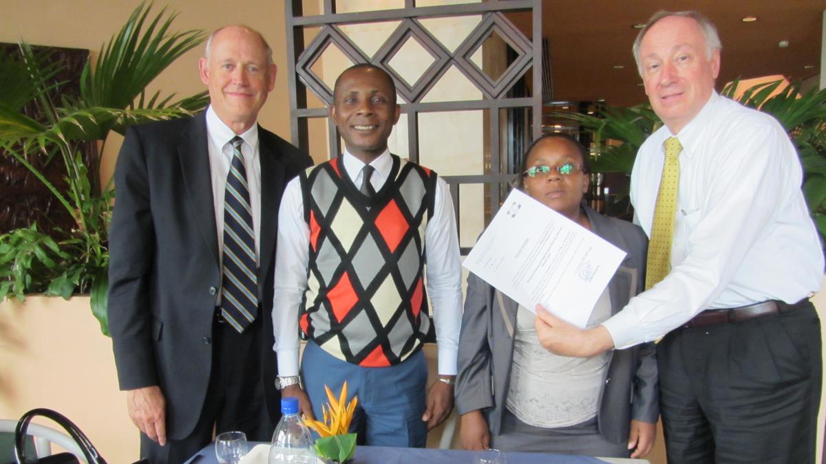 Establishing the Church in Gabon