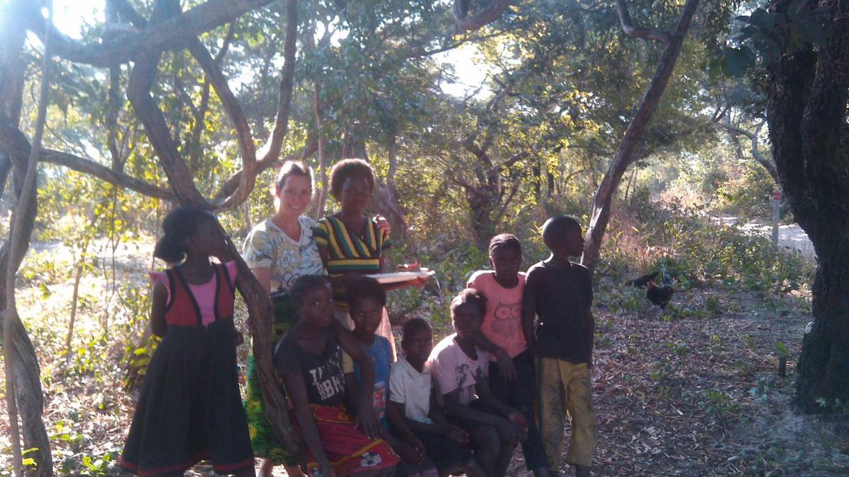 Establishing a Children's Library in Zambia