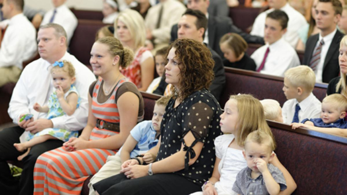 Small Children and Sacrament Meeting