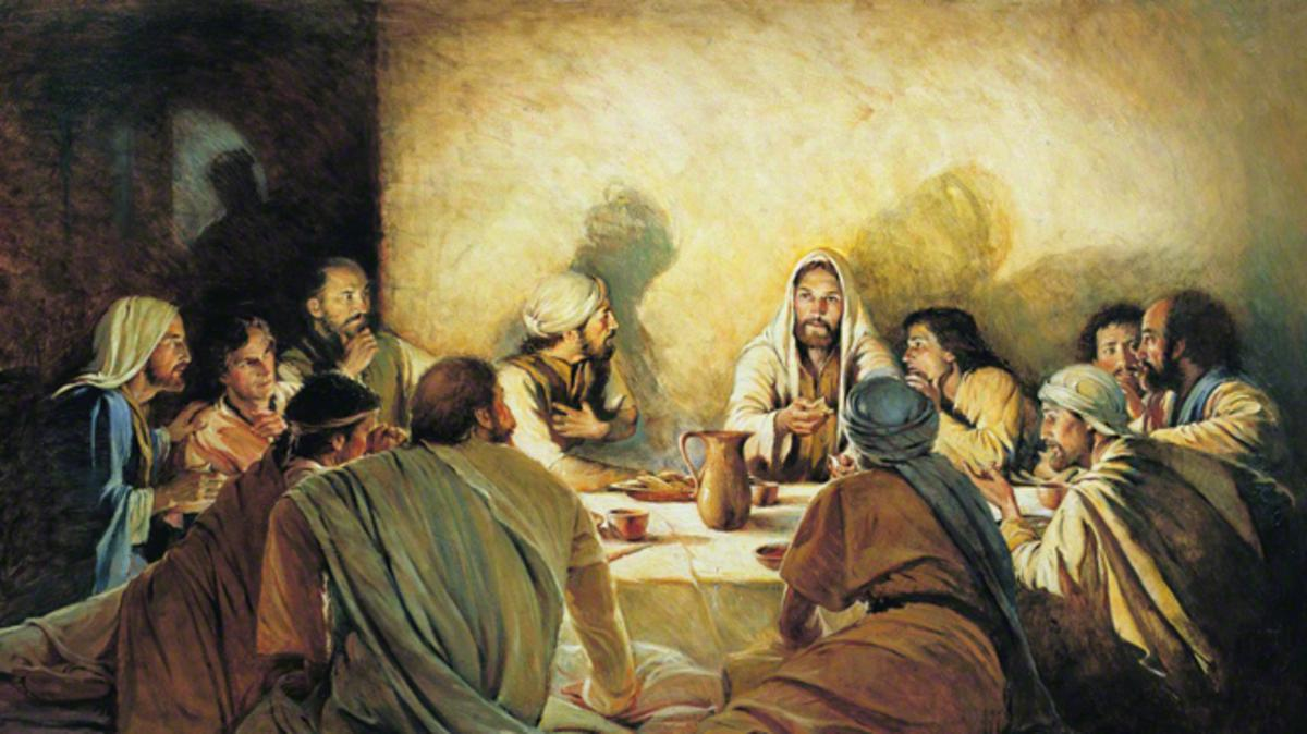 Jesus' Last Days: The First Sacrament