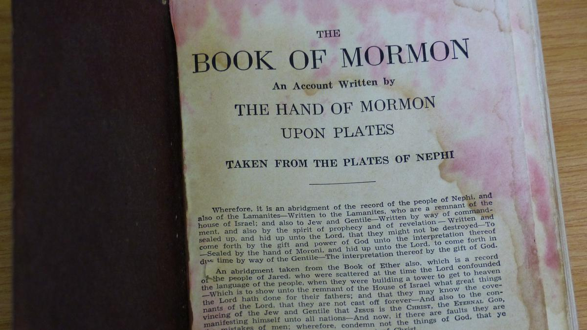 The Book of Mormon in the Rubble
