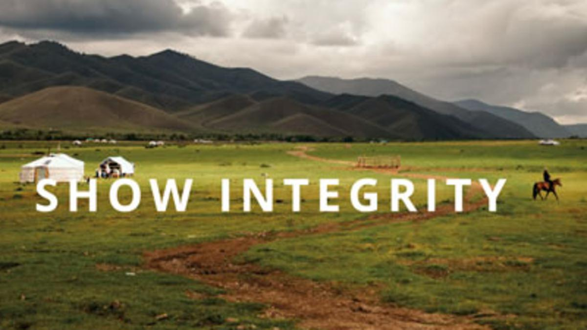 Self-Reliance Principle 10: Show Integrity