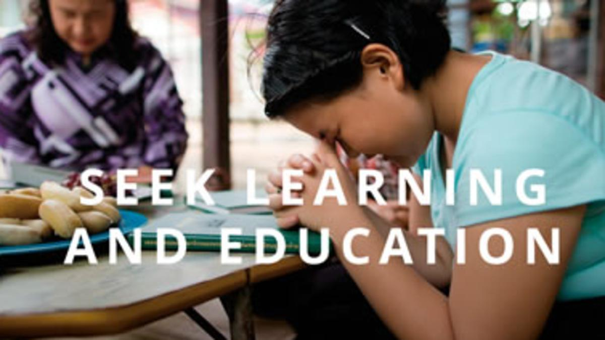 Self-Reliance Principle 11: Seek Learning and Education