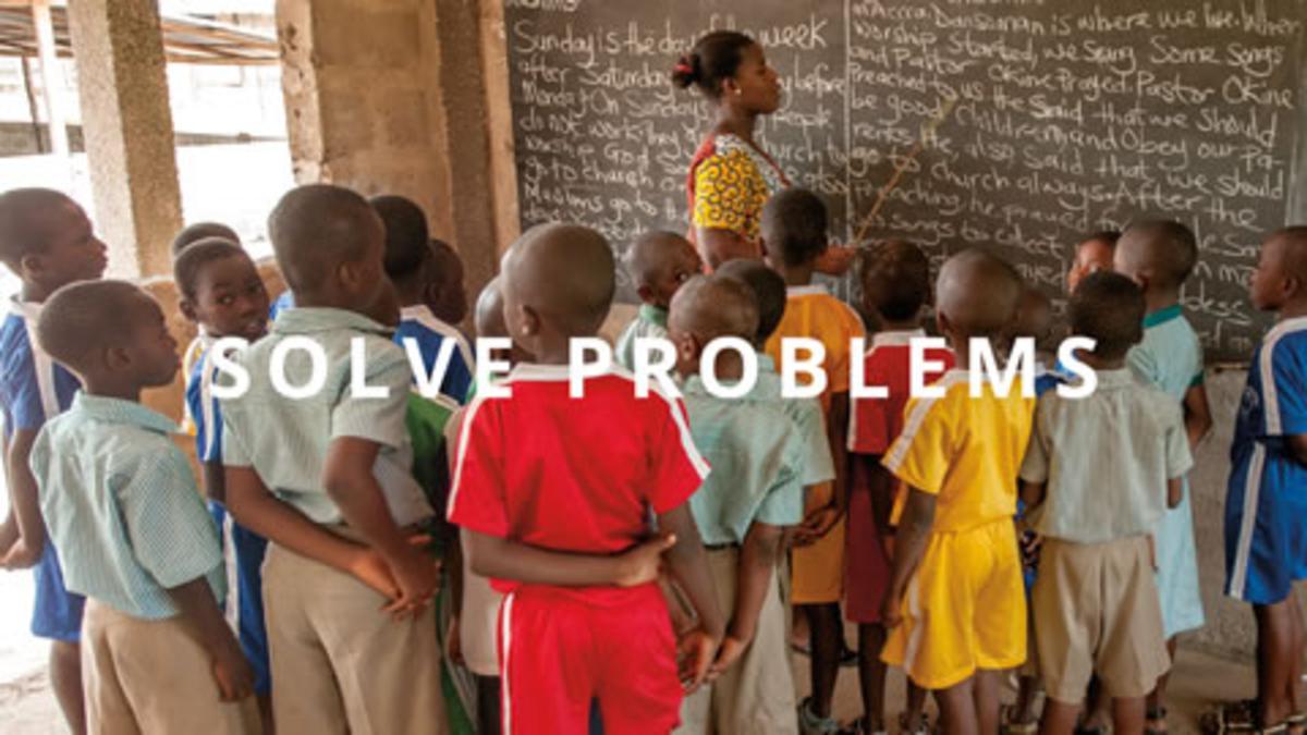 Self-Reliance Principle 6: Solve Problems