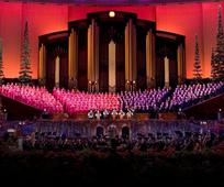 This is a picture of the Christmas Tabernacle Choir.