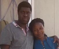 Lovemore Katandika and his wife