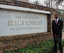 This is a picture of Elder Lindani Ndlovu.