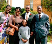 The George and Elizabeth Shongwe family