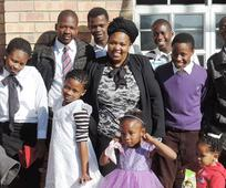 The Zwane family