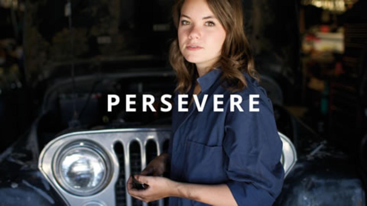 Self-Reliance Principle 9: Persevere