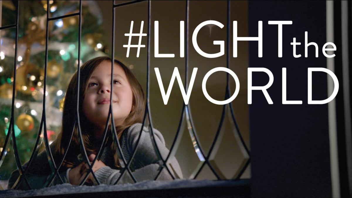 #LIGHTtheWORLD 2016 Christmas Video