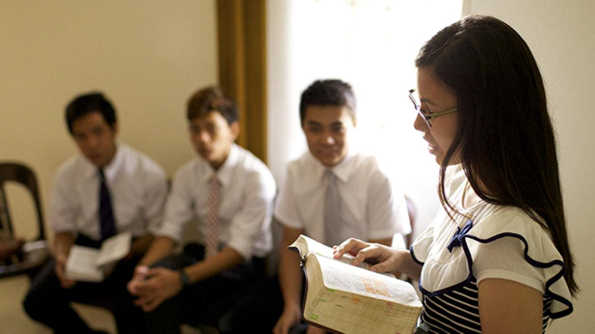 Helping Youth Teach