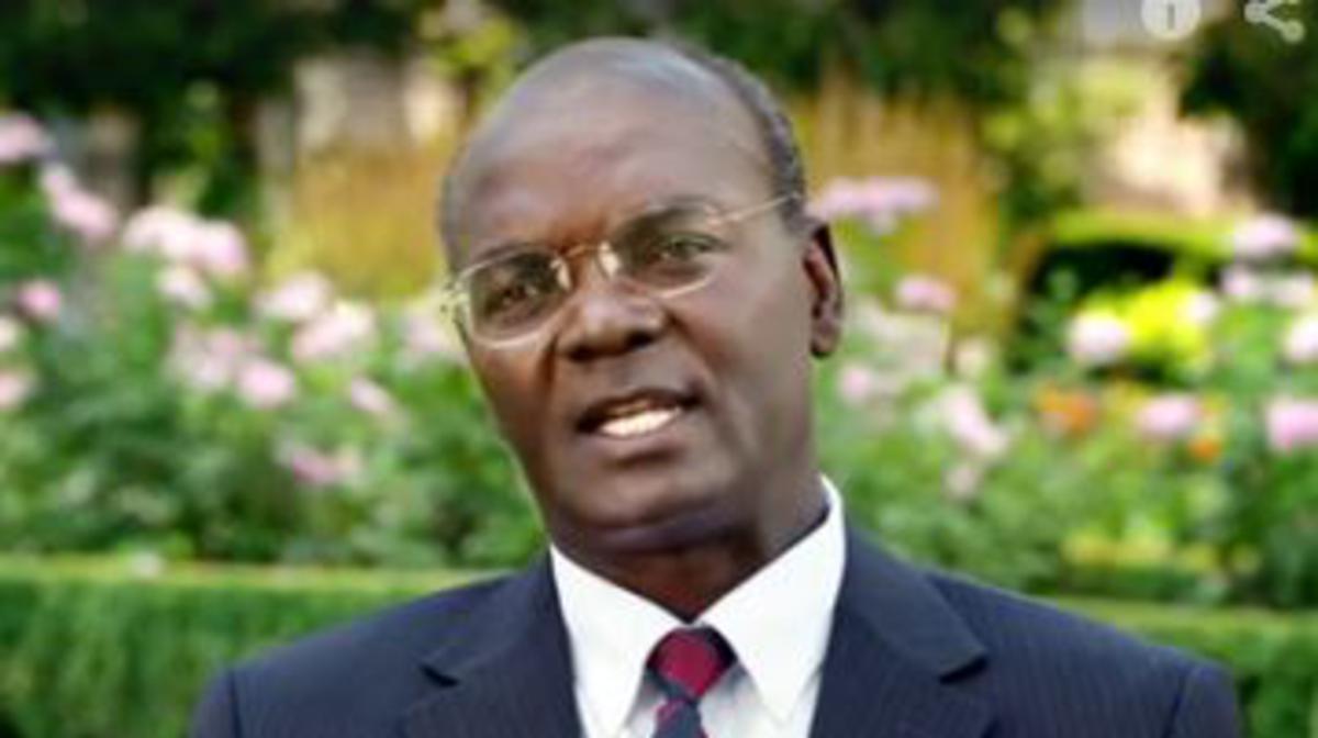Joseph Sitati, First Kenyan District President