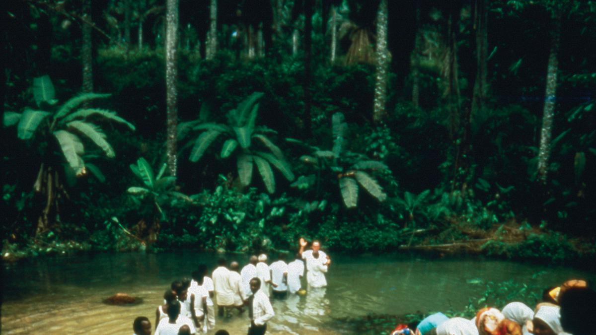 Rare Videos of the First Baptisms in West Africa