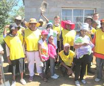 Lesotho helping hands group