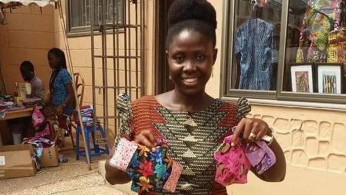 Faites la connaissance de Bernice un membre à Accra qui apporte l'espoir d'une vie meilleure aux jeunes femmes du Ghana