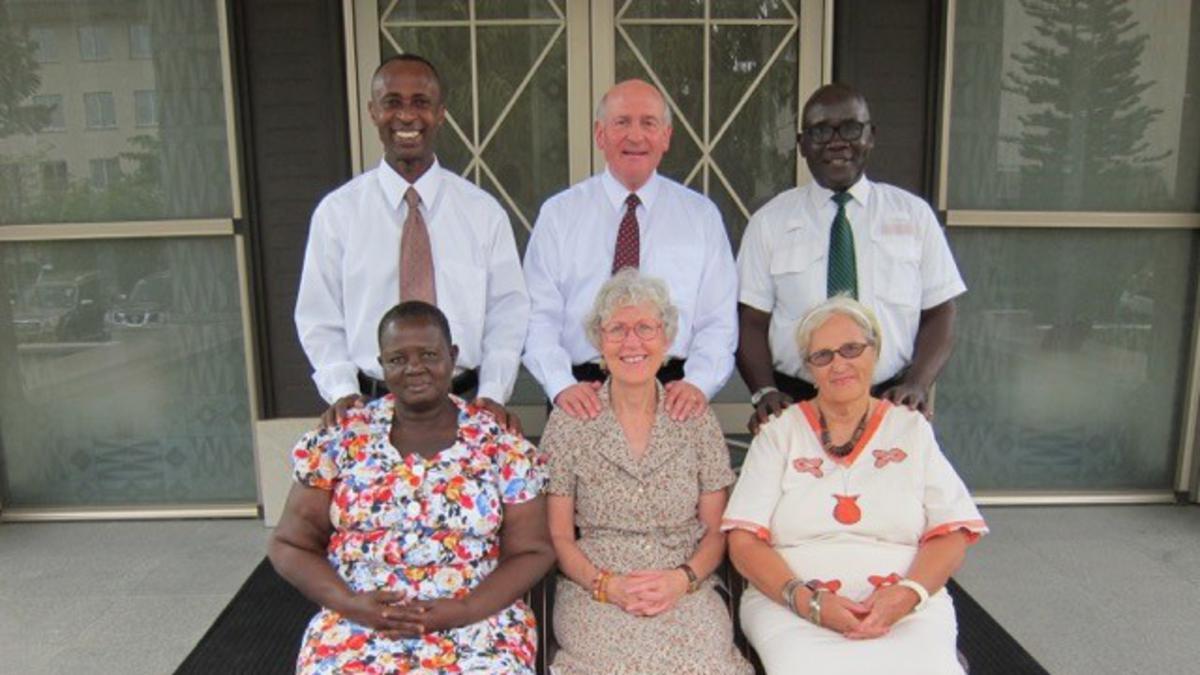 Une Nouvelle Présidence Pour Le Temple d'Accra au Ghana